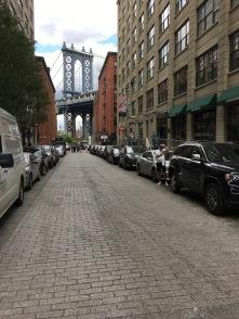Strada celebre del film di Sergio Leone : C'era una volta in America- Dumbo